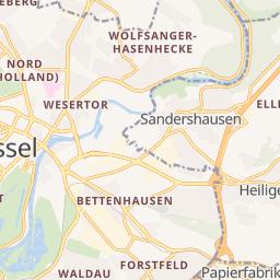 Karte Kassel Und Umgebung.Ladesaulen In Kassel Deutschland